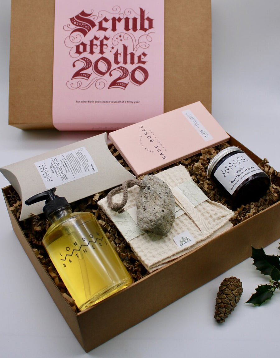 London Bathers Scrub Off The 2020: Limited Edition Christmas Gift Set