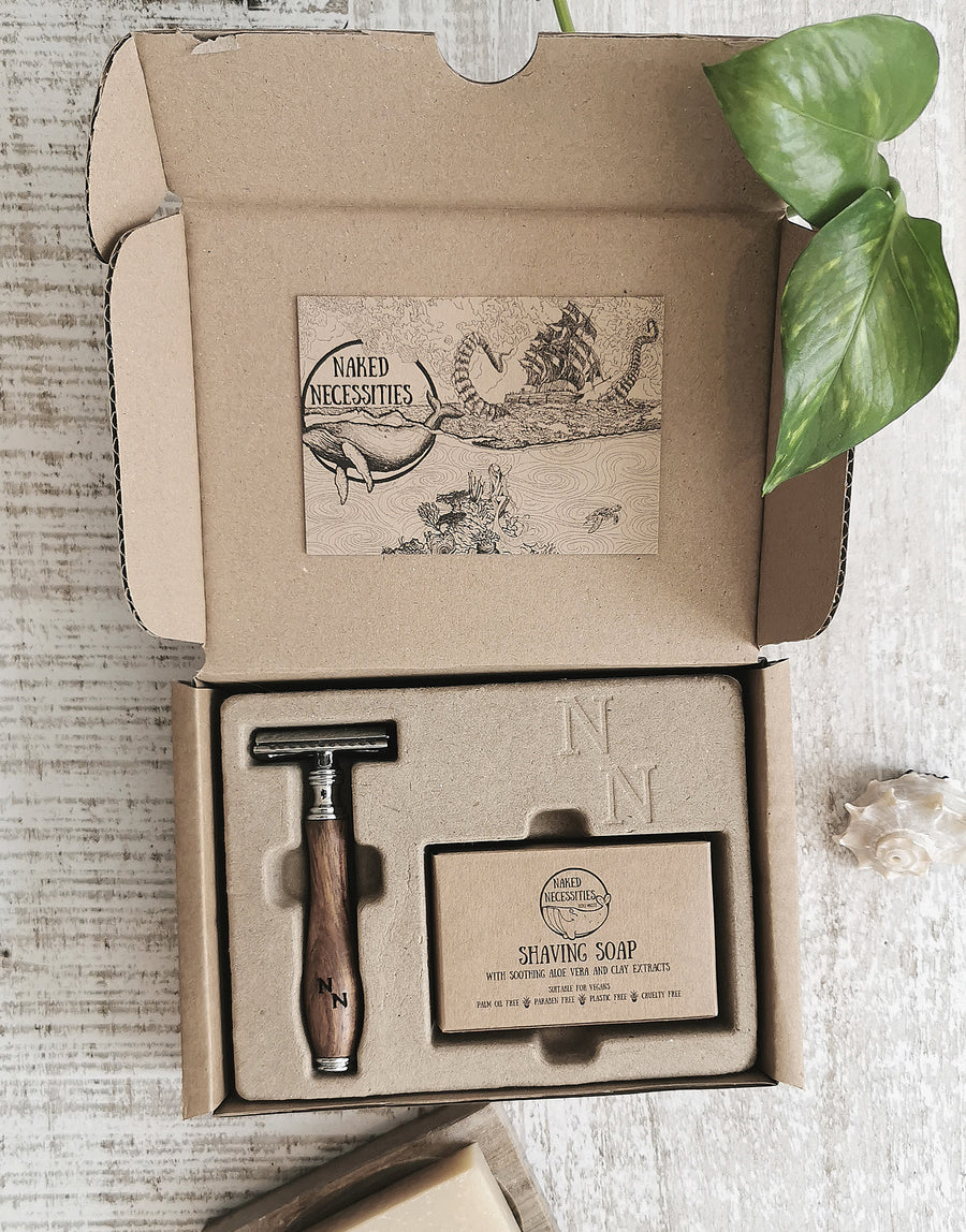 Naked Necessites The Naked Shave Kit Brown