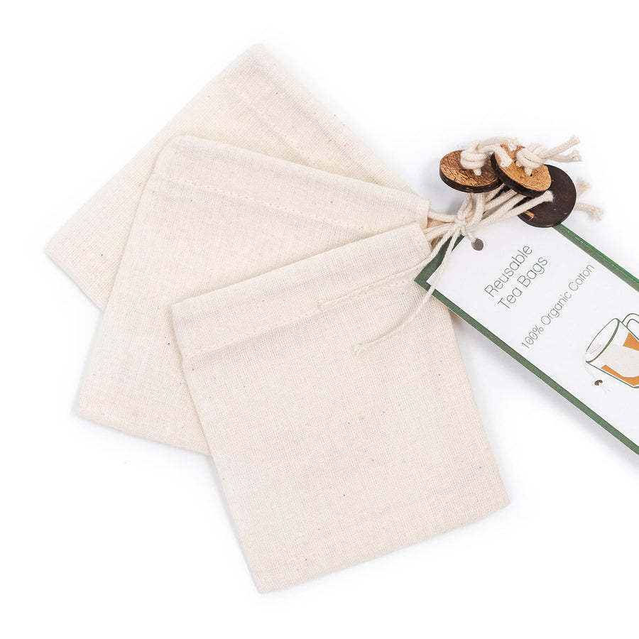 Organic Stories Reusable Tea Bag Set of 10