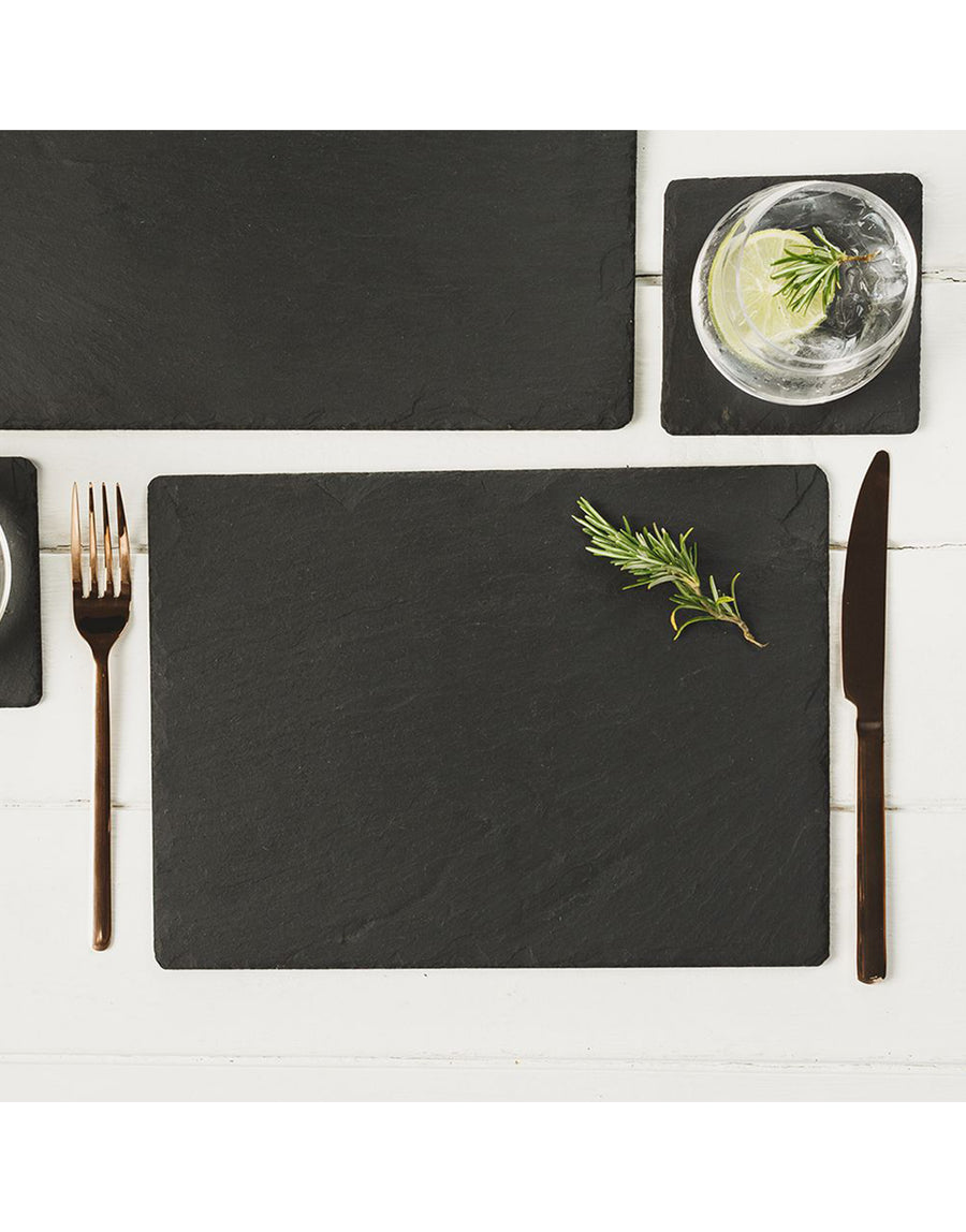 The Just Slate Company Rectangular Placemats Set of 2