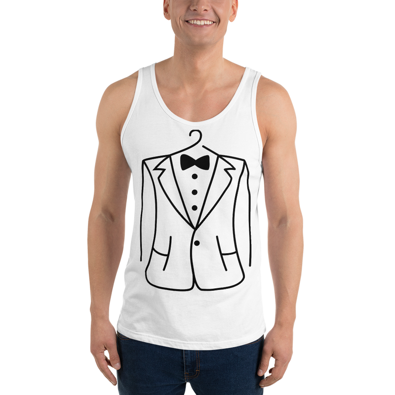 The suit tank Tee