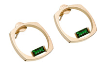 Load image into Gallery viewer, ARO F BAGUETTE GREEN TOURMALINE