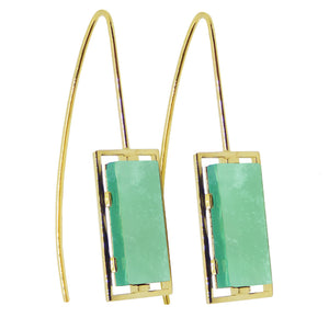 DIASPRO EARRINGS PAIR CRISOPAS