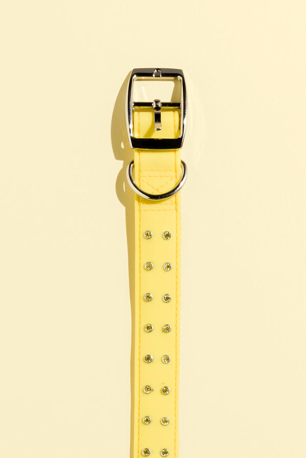 Bling Collar - Yellow