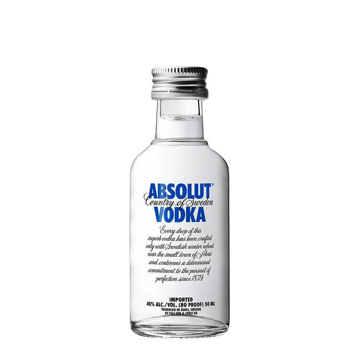 Absolut Vodka 50mL Bottle - Goldeluck's Doughnuts