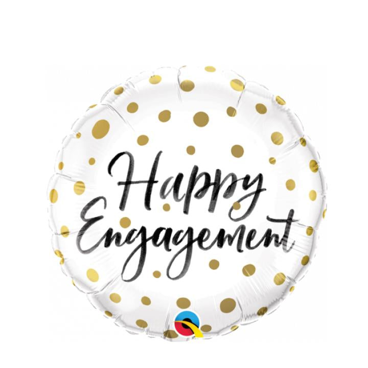 Happy Engagement Balloon - Goldeluck's Doughnuts