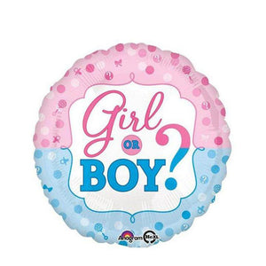 Gender Reveal Balloon - Goldeluck's Doughnuts
