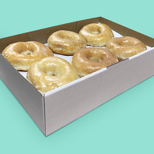 Donut box with OG glazed donuts