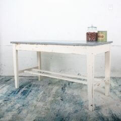 Sold! Zinc top table