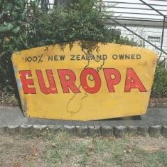 Sold! Europa Sign
