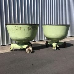 Sold! Giant dough bowls