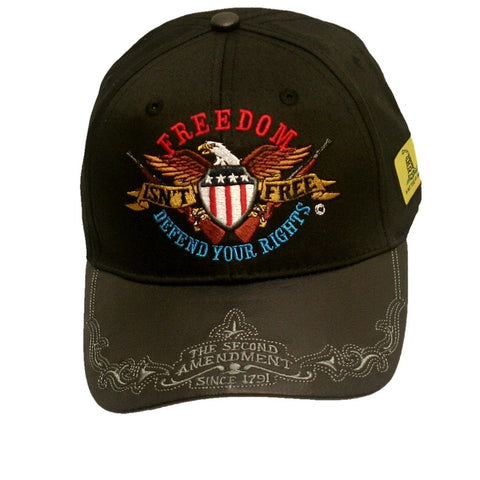 Freedom Isn't Free, Defend Your Rights [Ballcap]