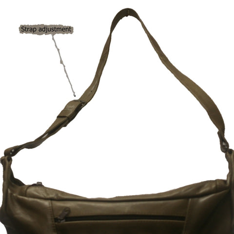 Leather Concealed Carry Handbag 2