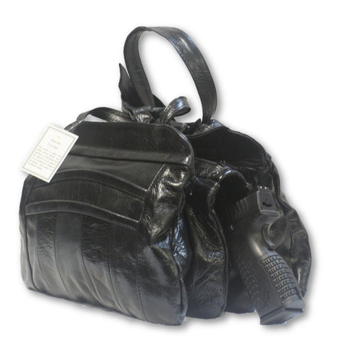 Leather Concealed Carry Handbag 4