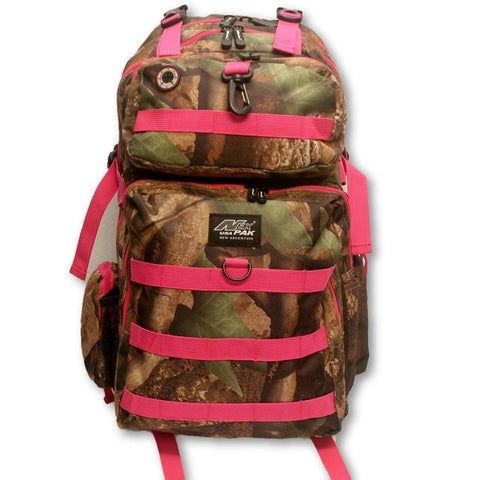 Camo with Pink Straps