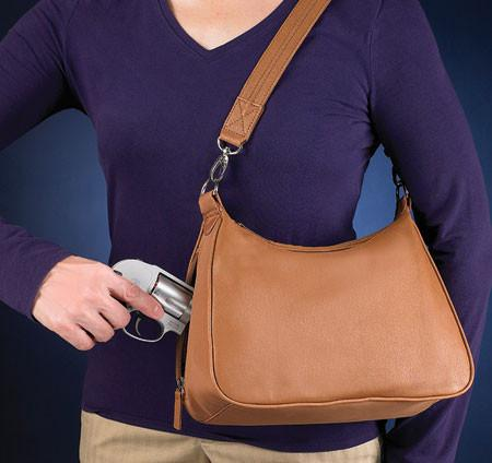 GTM-0070 Concealed Carry Basic Hobo Handbag