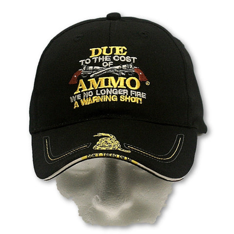 We No Longer Fire A Warning Shot [Ballcap]