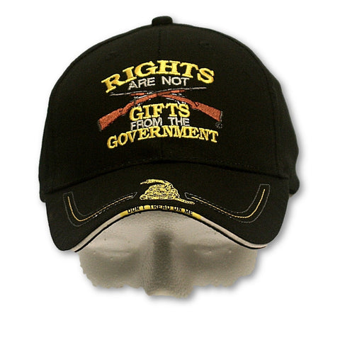 Rights Are Not Gifts [Ballcap]