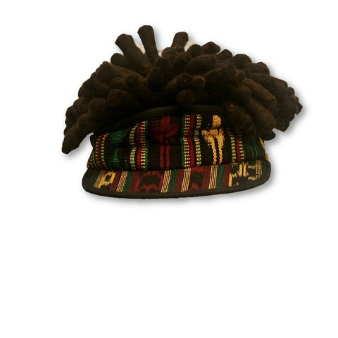 Short Dreadlocks Rasta hat