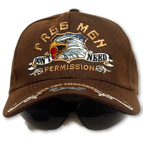 Free Men Don't Need Permission [Ballcap]