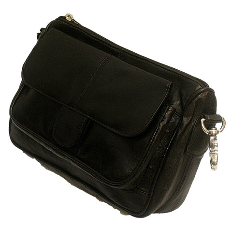 Leather belt loop purse 1299