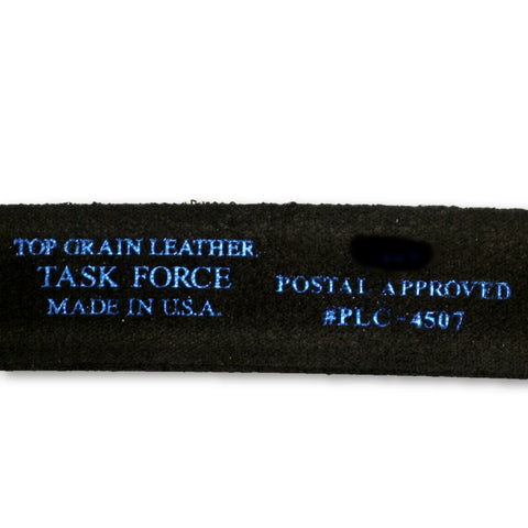 "Leather 1.25"" Postal Approved Work Belt - Made in the USA"