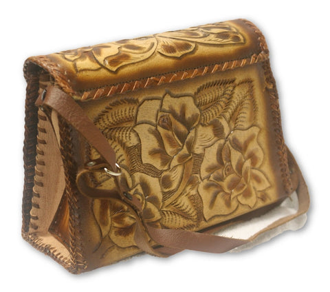 Leather Hand Tooled Purse 2
