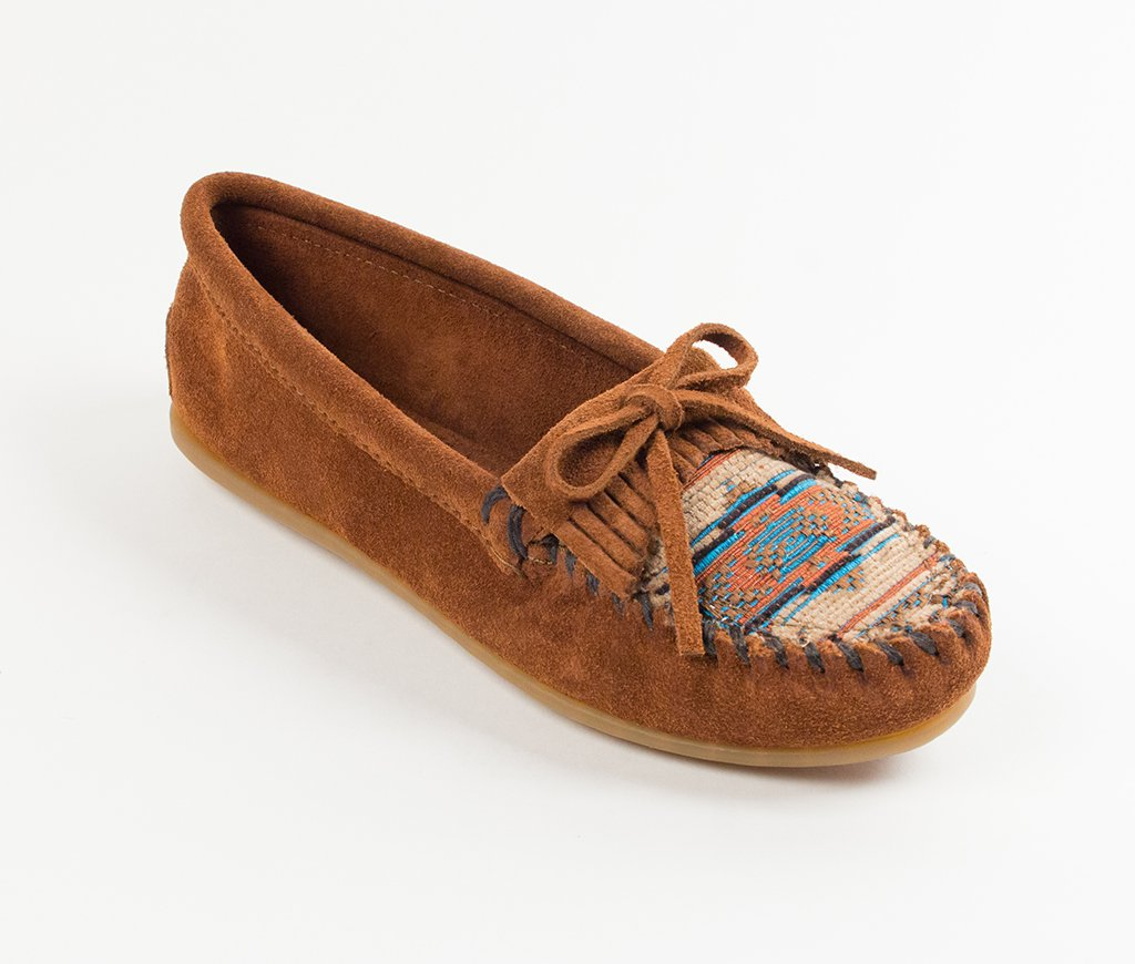 factory outlet cheap price clearance under $60 Minnetonka El Paso II Suede Leather Moccasins BFX7Ub2p