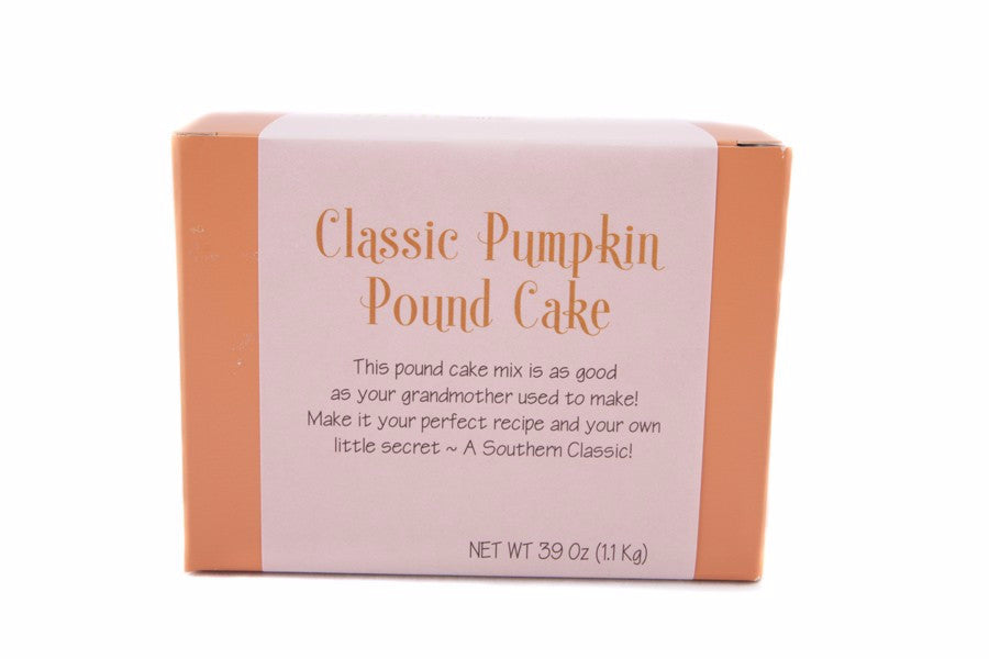 Classic Pumpkin Pound Cake Mix
