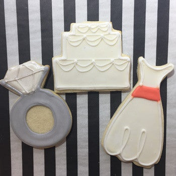 Engagement/Wedding Cookies