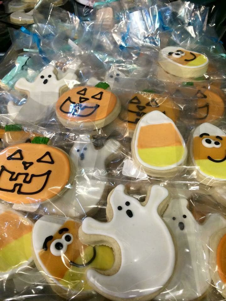 Halloween Assorted Cookies
