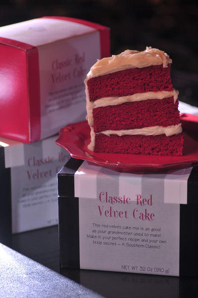 Classic Red Velvet Pound Cake Mix