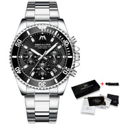 CEO Luxury Mens Watches Quartz Watch Full Steel Edition
