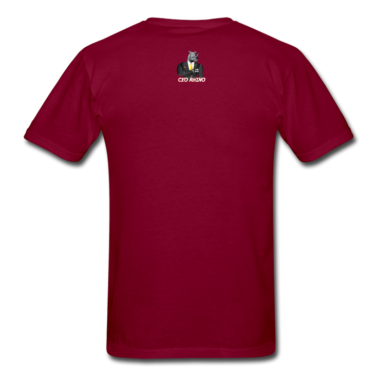 Time Waits (#2) T-Shirt - burgundy