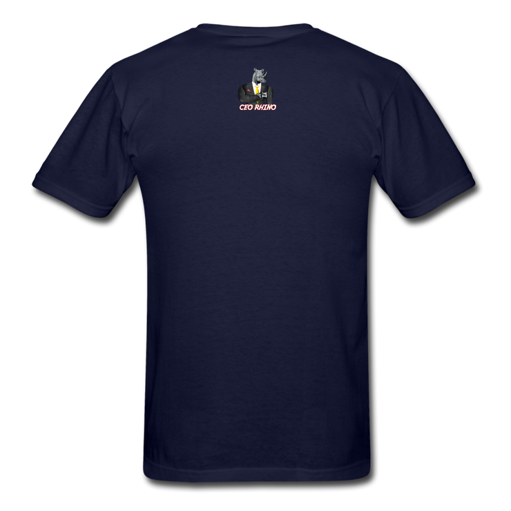 Time Waits (#2) T-Shirt - navy