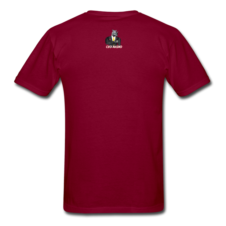 Keep Up (#2) T-Shirt - burgundy