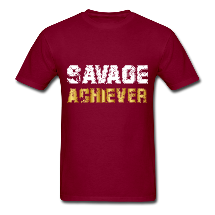 Savage Achiever T-Shirt - burgundy