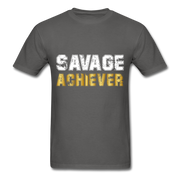 Savage Achiever T-Shirt - charcoal