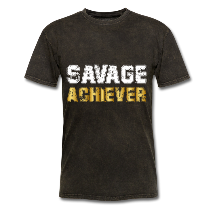 Savage Achiever T-Shirt - mineral black