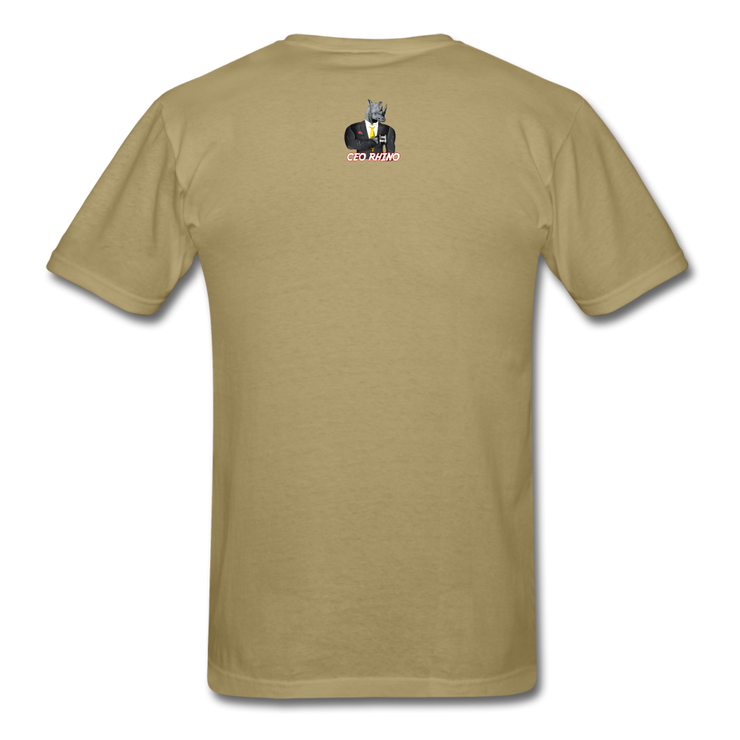 No Wealth In A 9to5 T-Shirt - khaki