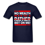 No Wealth In A 9to5 T-Shirt - navy