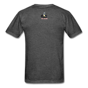 Invest More T-Shirt - heather black