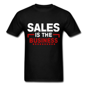 Sales Is The Business T-Shirt - black
