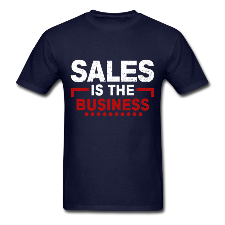 Sales Is The Business T-Shirt - navy