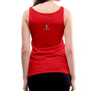 I Rather Be Respected Women's Premium Tank Top - red
