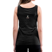 I Rather Be Respected Women's Premium Tank Top - charcoal gray