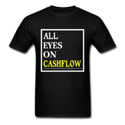 All Eyes On Cashflow T-Shirt - black