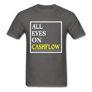 All Eyes On Cashflow T-Shirt - charcoal