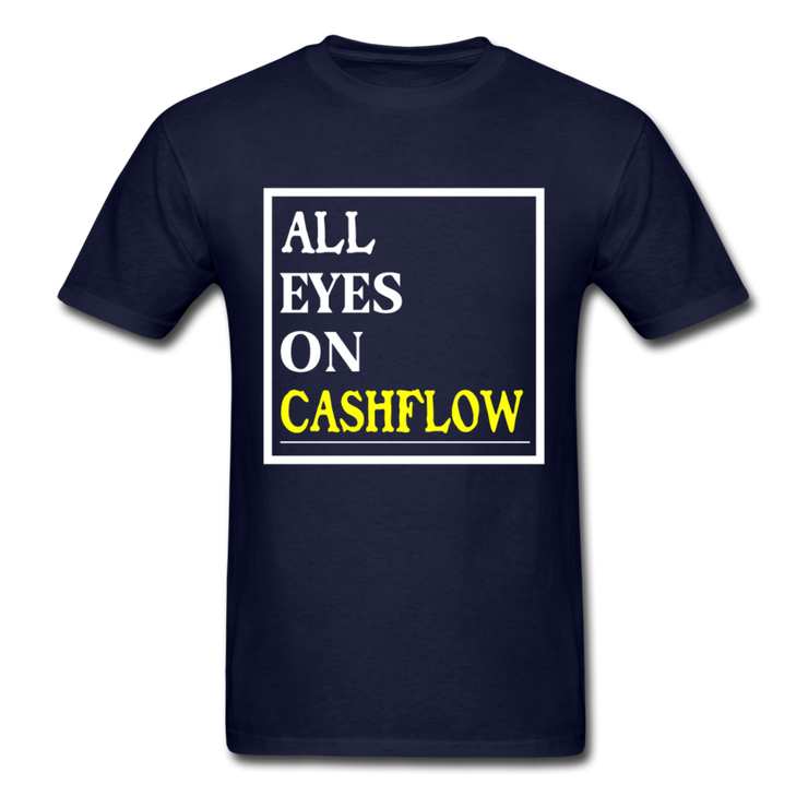 All Eyes On Cashflow T-Shirt - navy