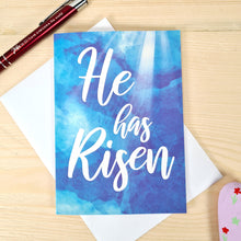 Load image into Gallery viewer, He has Risen Easter Cards